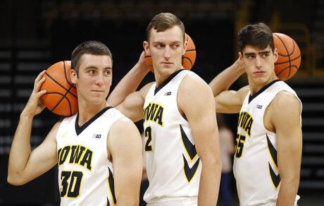 Connor McCaffery, Jack Nunge, Luka Garza