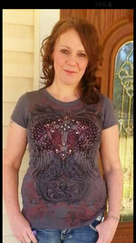 This undated photo provided by Mike Austin shows his wife Holly Barlow-Austin in Texarkana, Texas, before her 2019 death after being held in a Texarkana jail. Her family brought a federal lawsuit Wednesday, Sept, 16, 2020, against LaSalle Corrections, claiming its staff neglected Barlow-Austin's care and ignored her pleas for help as her health deteriorated and she went blind. (Courtesy Mike Austin via AP)