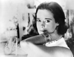 FILE - In this Jan. 4, 1964 file photo, railroad heiress Gloria Vanderbilt poses for a photograph. Vanderbilt, the intrepid heiress, artist and romantic who began her extraordinary life as the