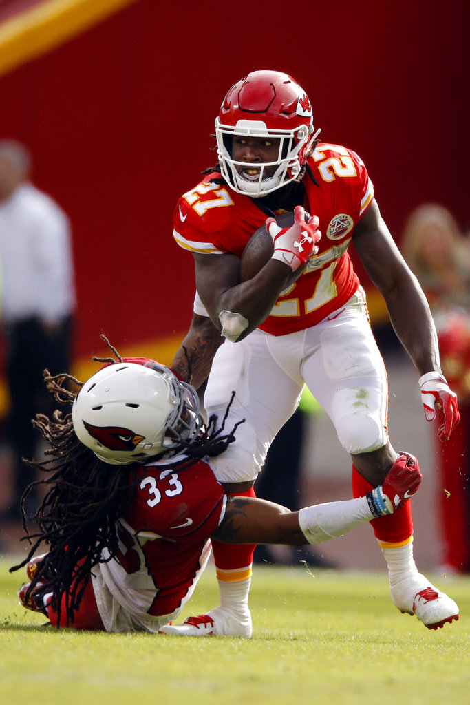 Kareem Hunt, Tre Boston