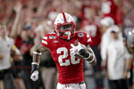 Nebraska running back Maurice Washington (28) runs for a touchdown against Northern Illinois during the first half of an NCAA college football game in Lincoln, Neb., Saturday, Sept. 14, 2019. (AP Photo/Nati Harnik)