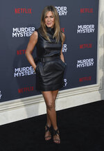 Cast member Jennifer Aniston arrives at the Los Angeles premiere of