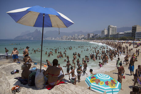 Brazil Tense Beaches