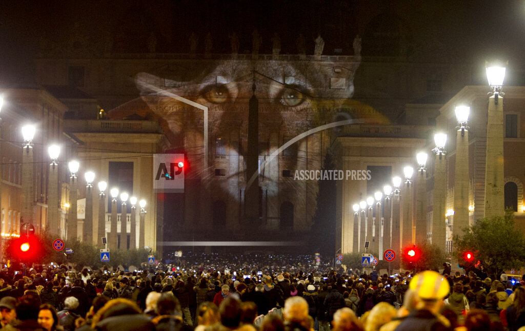 APTOPIX Vatican Holy Year Photo Show