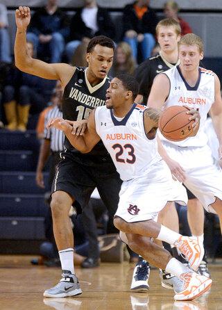 Vanderbilt Auburn Basketball