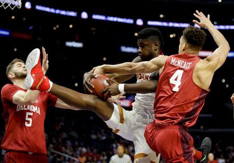 Oklahoma USC Basketball
