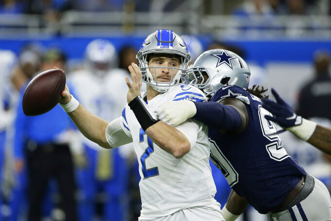 Dallas Cowboys at Detroit Lions 11/17/2019
