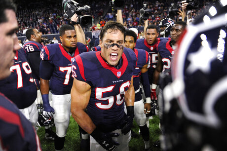 Texans-Cushing Suspended Football