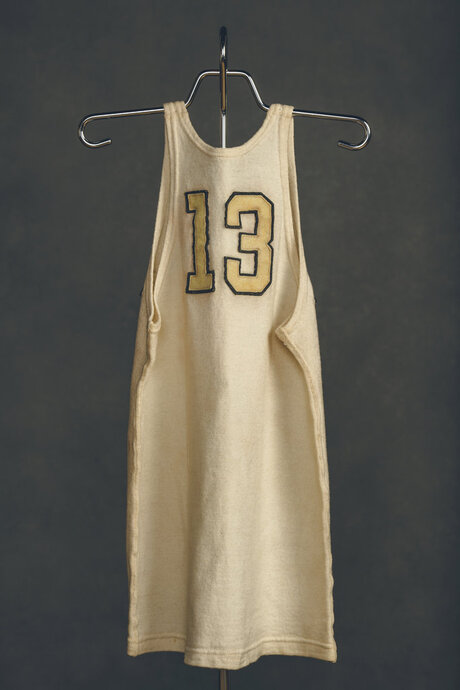 Brees Wooden Jersey Basketball