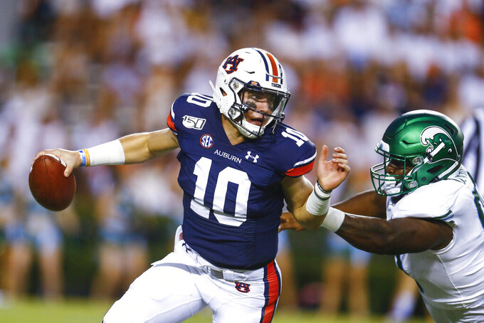 No. 8 Auburn, Nix taking show on road against Mond & Co.