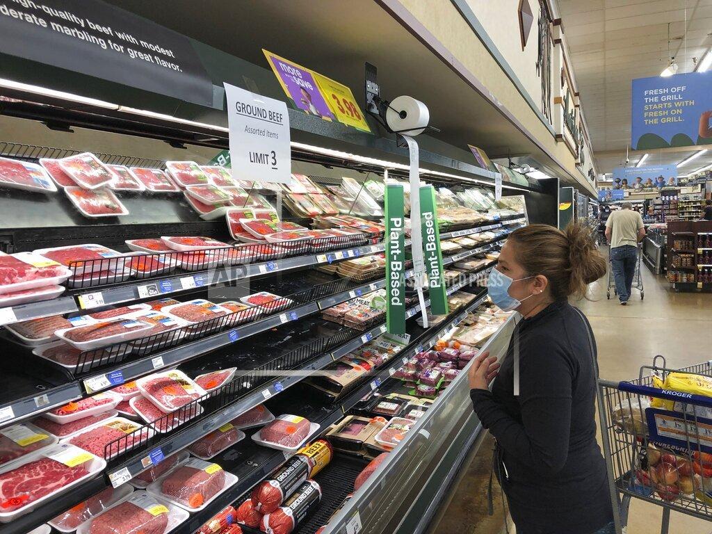 Virus Outbreak-Meat Shortages