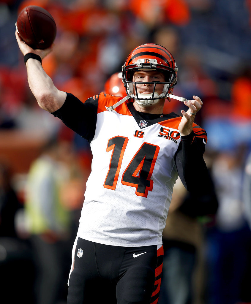 Bengals Broncos Footall