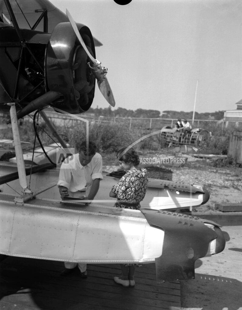 Watchf Associated Press Domestic News  New York United States APHS128425 Anne Morrow Lindbergh 1933