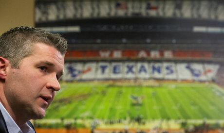 Texans Gaine Football