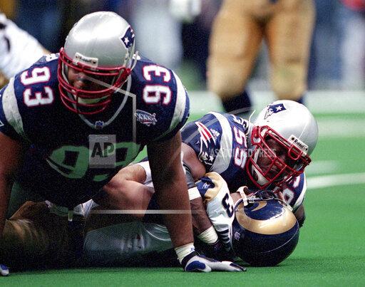 NFL Patriots McGinest