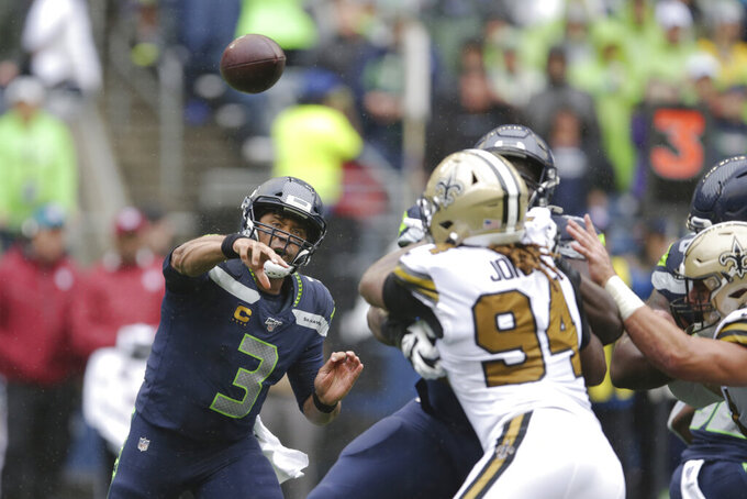 No Brees, no problem: Bridgewater, Saints top Seahawks 33-27