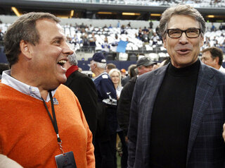 Chris Christie, Rick Perry