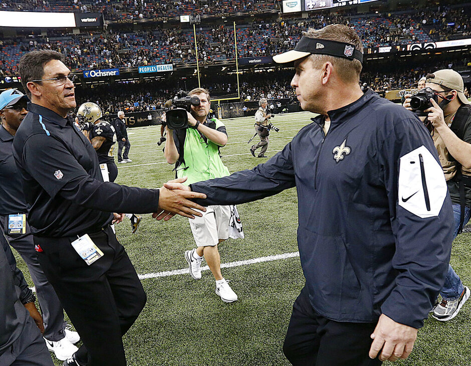 Ron Rivera, Sean Payton