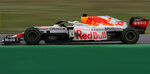 Red Bull driver Max Verstappen of the Netherlands steers his car during the Turkish Formula One Grand Prix at the Intercity Istanbul Park circuit in Istanbul, Turkey, Sunday, Oct. 10, 2021. (AP Photo/Francisco Seco)
