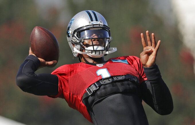 Newton cautions rehab on shoulder is 'a work in progress'