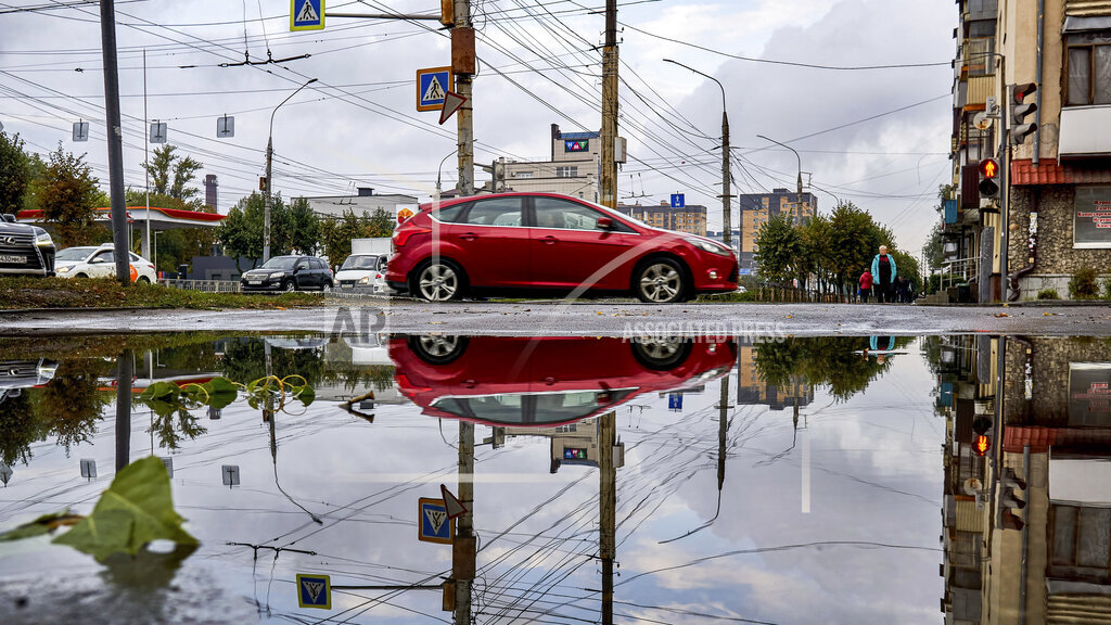 Flooding after heavy rains in Voronezh, Russia - 20 Sept 2021