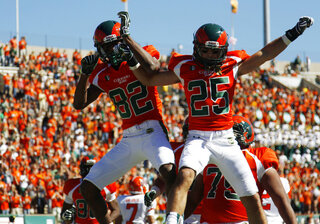 Rashard Higgins, Joe Hansley