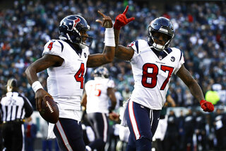 Texans Eagles Football