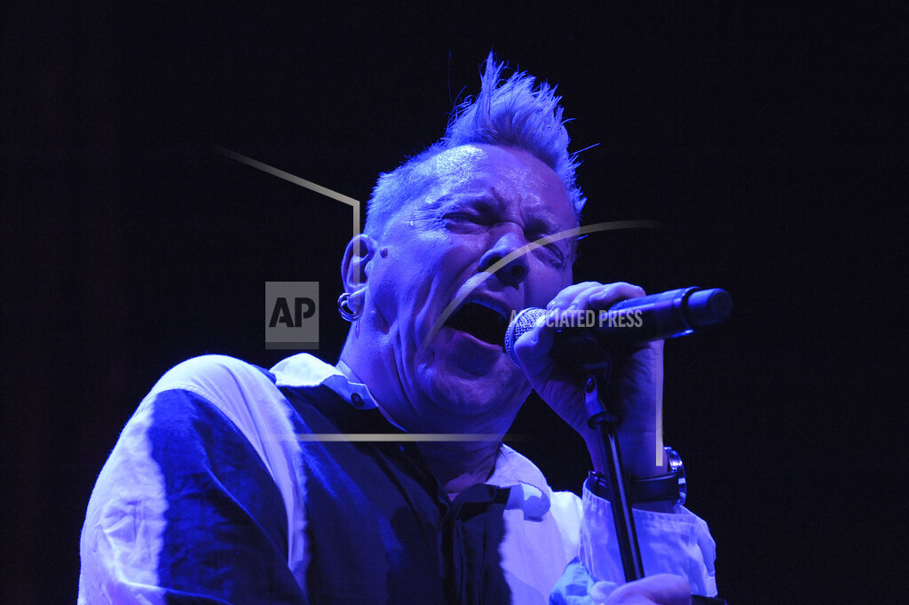 CTR AP A ENT Calif. USA NYWWP John Lydon performs with Public Image Limited in L A