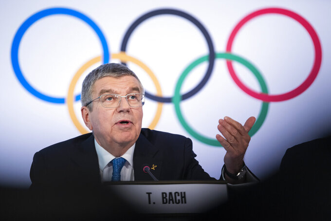 Olympic leaders back IOC's Tokyo stance after rare criticism