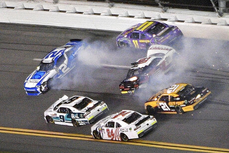 NASCAR Daytona Xfinity Auto Racing