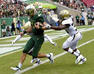 Georgia Tech South Florida Football