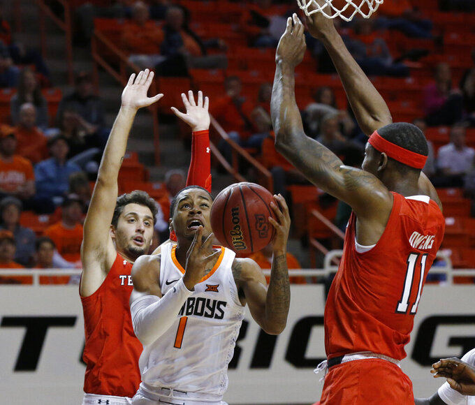 Culver scores 19 as No. 15 Texas Tech routs Oklahoma State