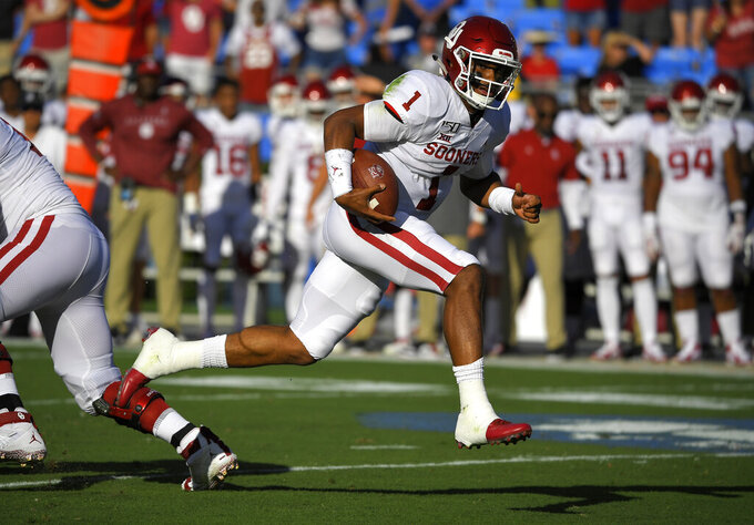 Balanced Oklahoma offense ranks No. 2 nationally in rushing