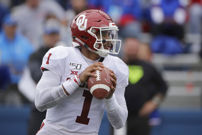 Oklahoma-Texas showdown to affect Big 12, playoff races