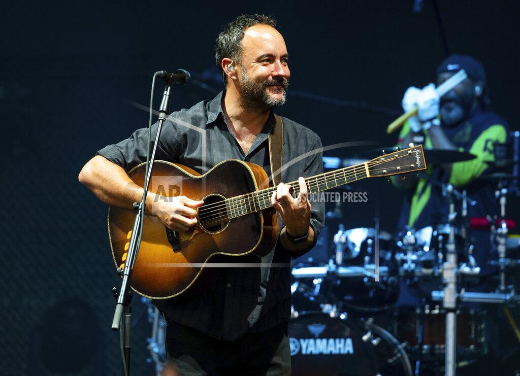 Dave Matthews Band in Concert - Alpharetta, Ga.