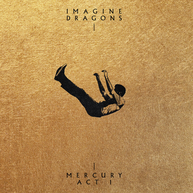 """This cover image released by KIDinaKORNER/Interscope shows """"Mercury - Act I"""" by Imagine Dragons, releasing Sept. 3.  (KIDinaKORNER/Interscope via AP)"""