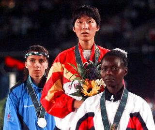 Wang Junxia, Pauline Konga, Roberta Brunet