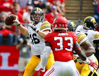 Iowa Rutgers Football