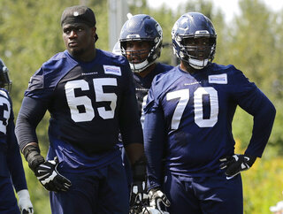 Seahawks Ifedi Football