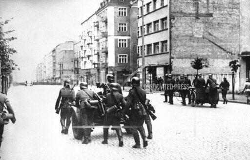 WWII Germany Invades Poland