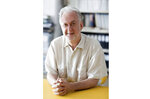 In this undated image, architect and urban theorist Michael Sorkin poses for a photo. Sorkin was an architect but was better known for his writings in books and as a critic for publications including the Village Voice and the Nation. Sorkin died March 26 at a hospital in New York. He was 71. (Jeff Barnett Winsby via AP)