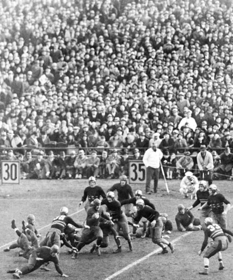 All-Time AP Poll 1930s-40s Football