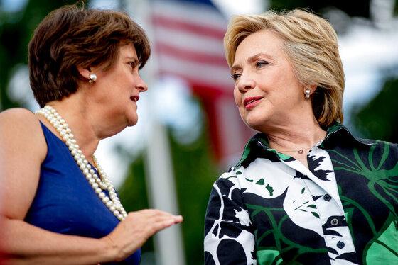 Hillary Clinton, Anne Holton
