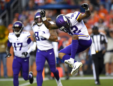 APTOPIX Vikings Broncos Football