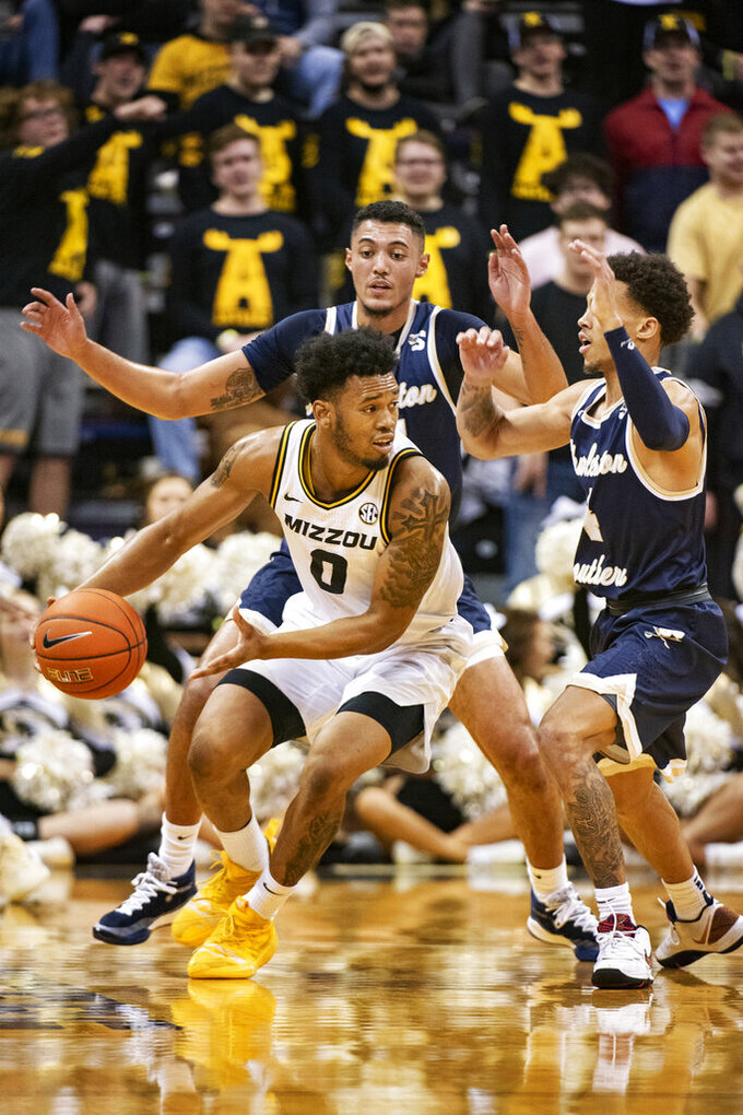 LeXander leads Charleston Southern past Missouri, 68-60