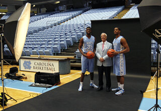 Roy Williams, Reggie Bullock, Leslie McDonald