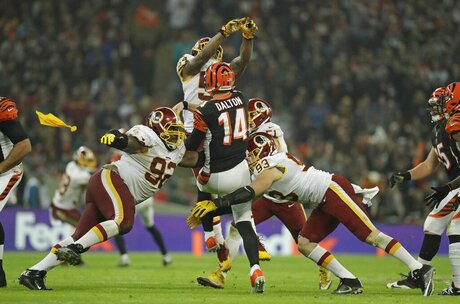 Britain Redskins Bengals Football