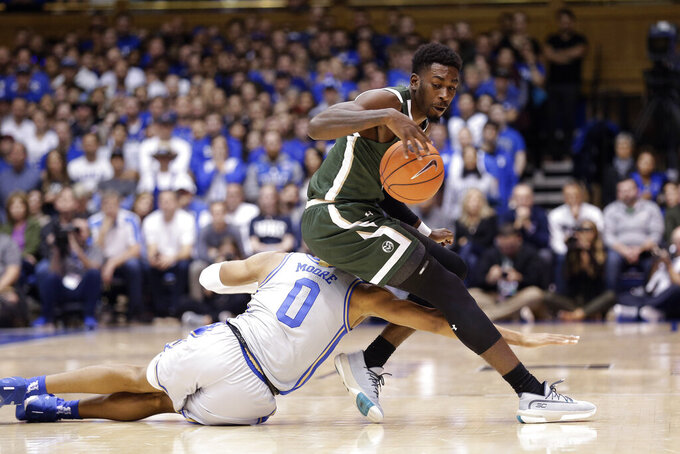 Jones leads No. 4 Duke past Colorado State 89-55