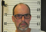FILE - This 2017 file photo provided by the Tennessee Department of Correction shows death row inmate Lee Hall. Tennessee has not performed autopsies on Lee and three other death row inmates who chose to die in the electric chair since the state resumed executions in 2018. The state honored requests that autopsies not be performed from all those inmates. Documents provided to The Associated Press show that just one autopsy was performed on an inmate in the last 18 months, even though six inmates have been executed. When Hall was electrocuted on Dec. 5, 2019, two white plumes of what looked like smoke rose from his head as he died for the 1991 murder of his former girlfriend. State officials have maintained it was steam.   (Tennessee Department of Correction via AP, File)