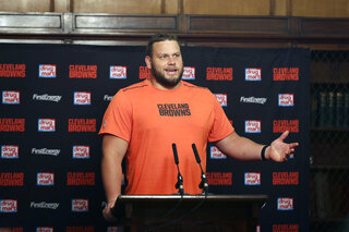 Browns Bitonio Football